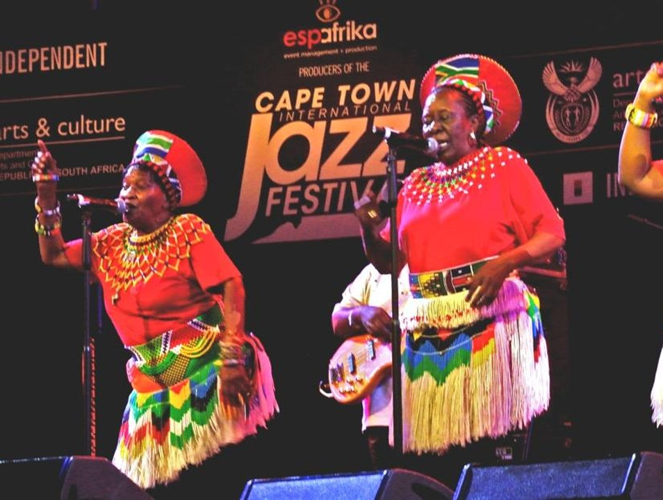 Cape Town International Jazz Festival Cape Town  South Africa