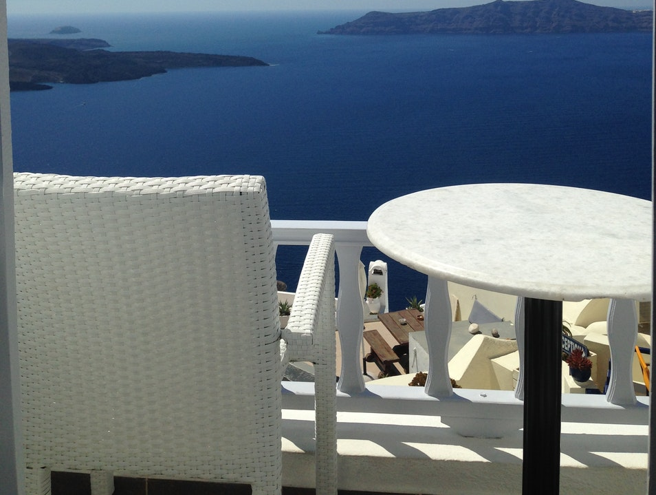 Breathtaking View of Santorini from your Room Thera  Greece