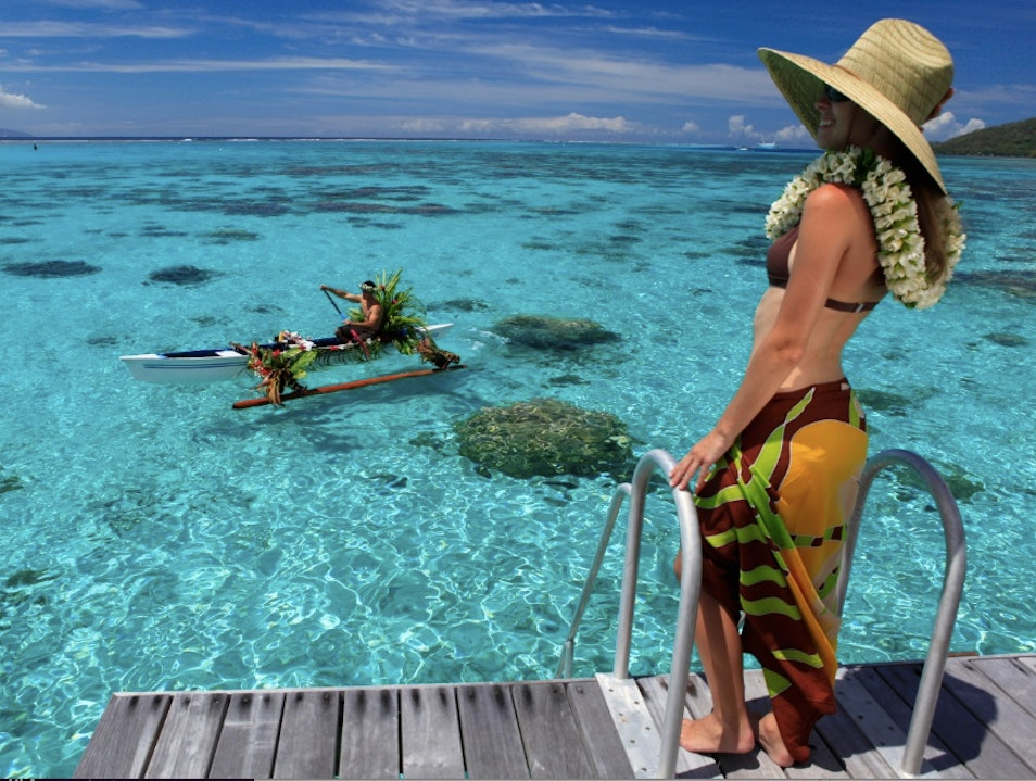Overwater Bliss on the Island of Love Maharepa  French Polynesia