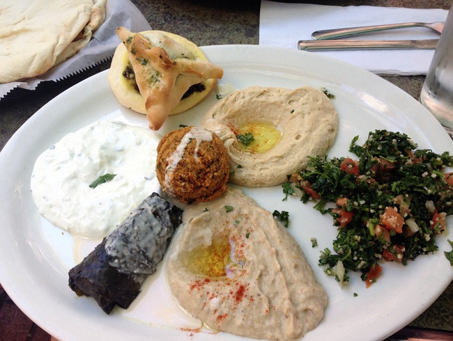 Vegetarian & Vegan-Friendly Lebanese Food