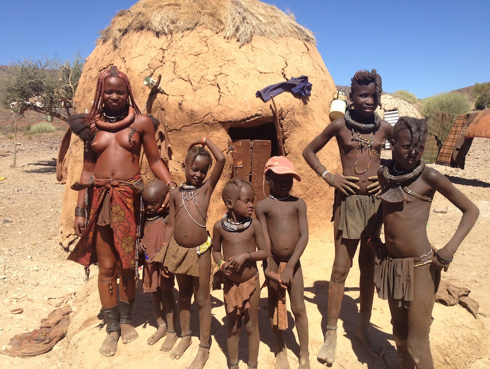 Exchanging Humanity with the Himba People of Northern Namibia Kunene  Namibia