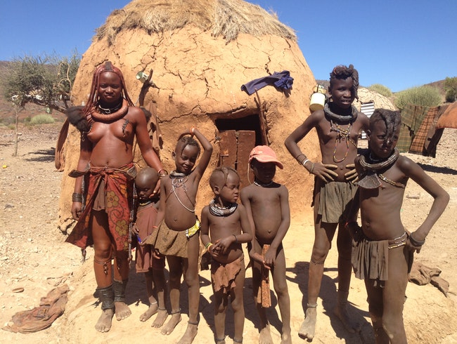 Exchanging Humanity with the Himba People of Northern Namibia