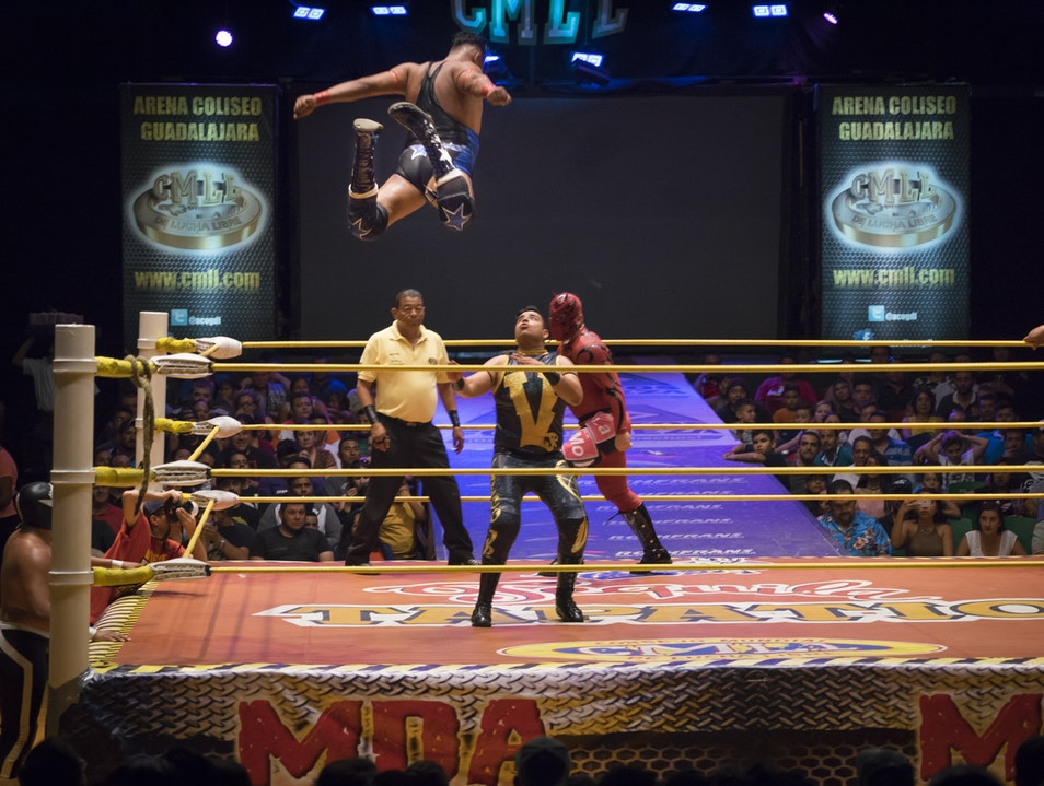 Don't Miss the Hilarious Mahem of Lucha Libre
