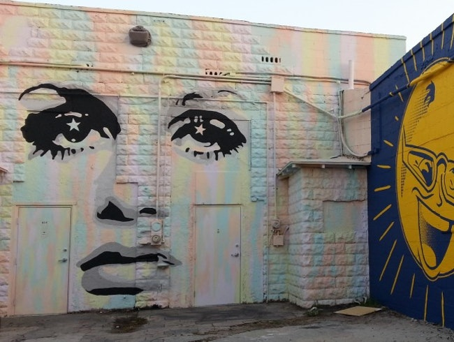 In St. Petersburg, Florida, a Mural Tour
