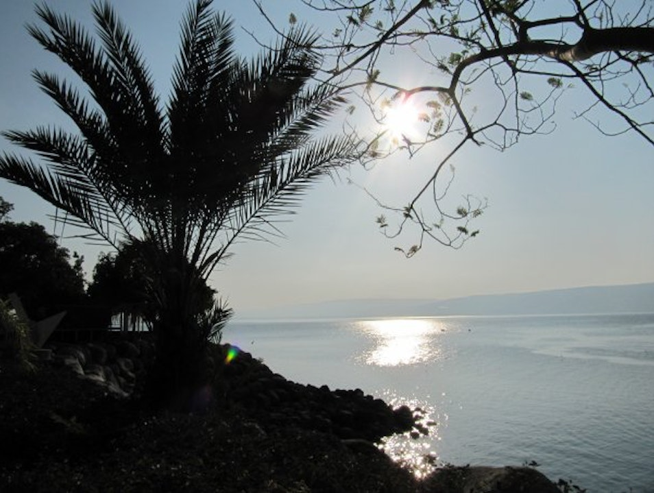 Sunset on the Sea of Galilee   Israel