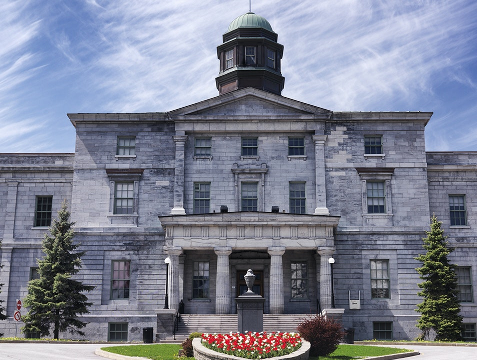 Redpath Museum at McGill University Montreal  Canada
