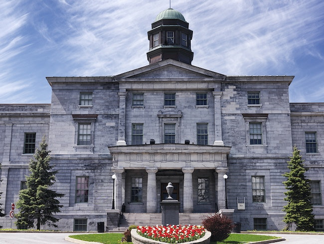 Redpath Museum at McGill University