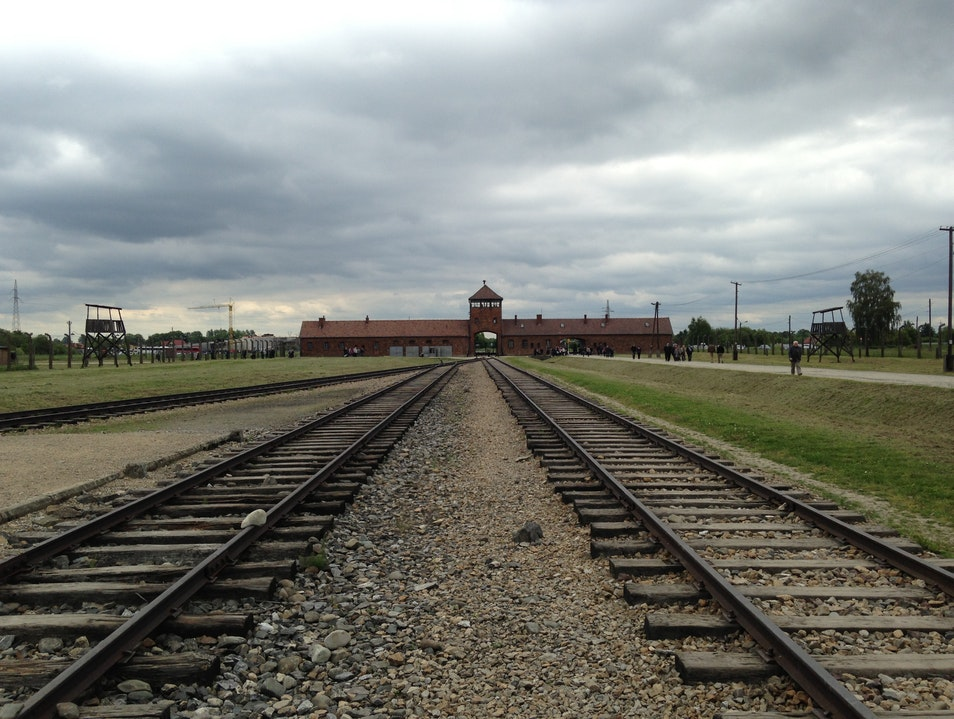 Remembering at Auschwitz-Birkenau