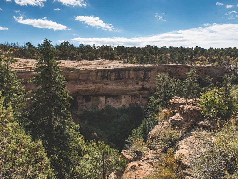 Stay a While at the Spruce Tree House Mesa Verde National Park Colorado United States