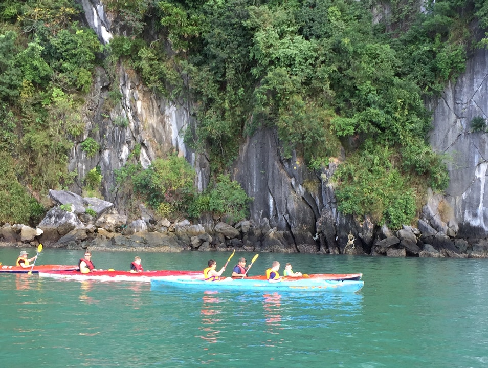 Kayak with the Mcacques  Việt Hải  Vietnam