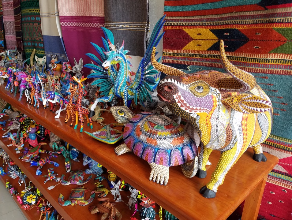 local artist hand rafted art work Zihuatanejo De Azueta  Mexico