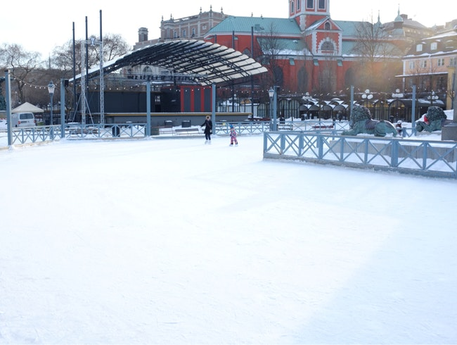 Ice Skating In Stockholm