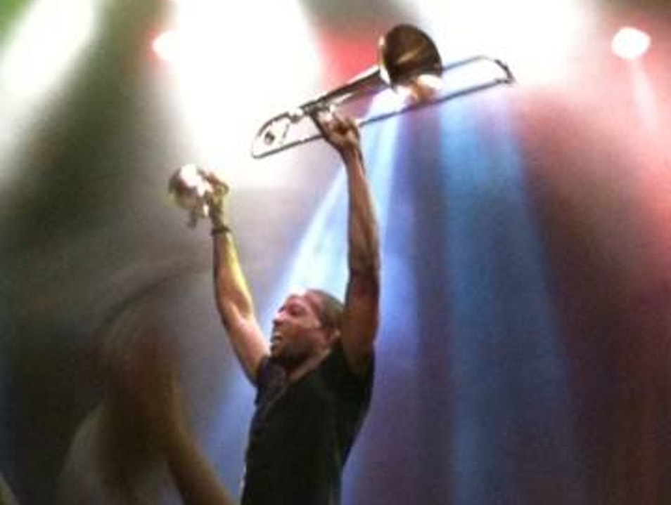 Trombone Shorty rocks the House! Dallas Texas United States