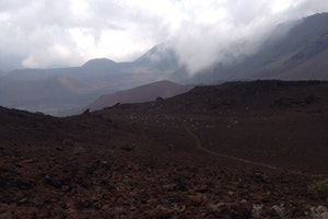 At The Top Of A Volcano