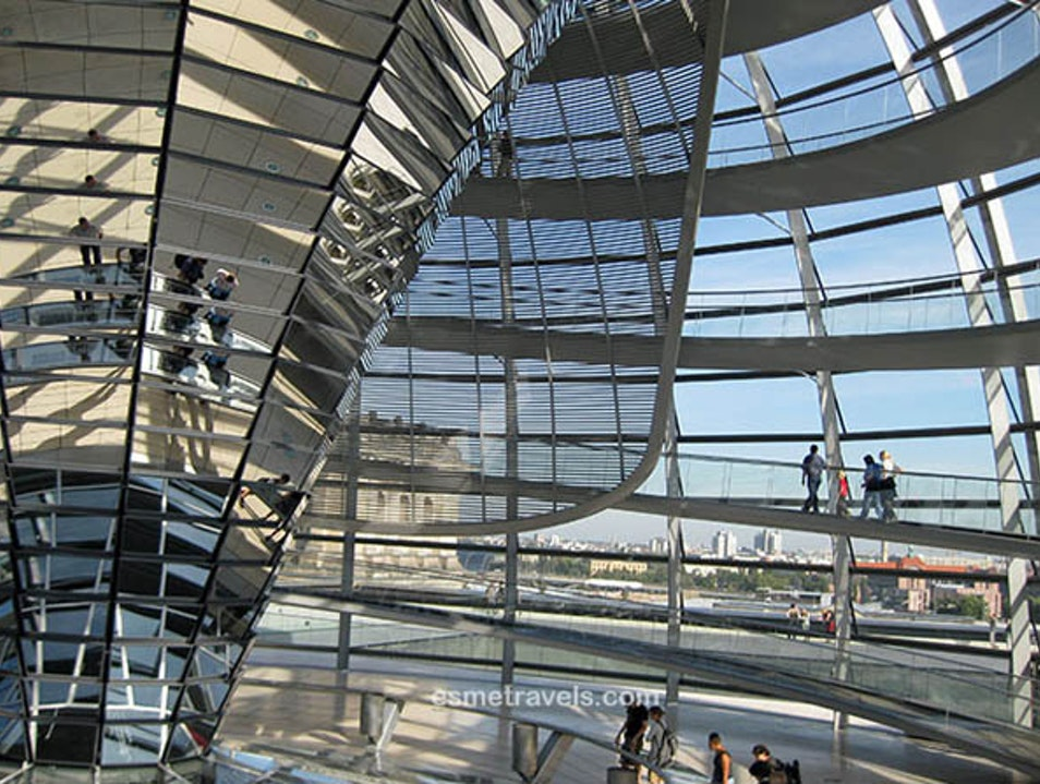 Walking the Reichstag