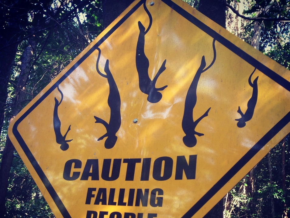 Caution: Falling People