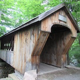 Gilford Tannery Hill Covered Footbridge, NH11A NE