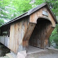 Gilford Tannery Hill Covered Footbridge, NH11A NE Gilford New Hampshire United States