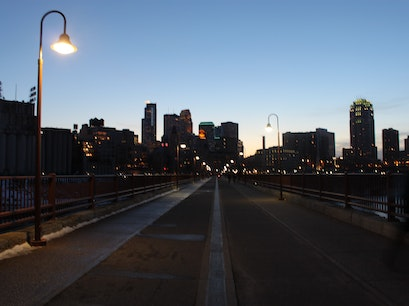 Stone Arch Bridge Minneapolis Minnesota United States
