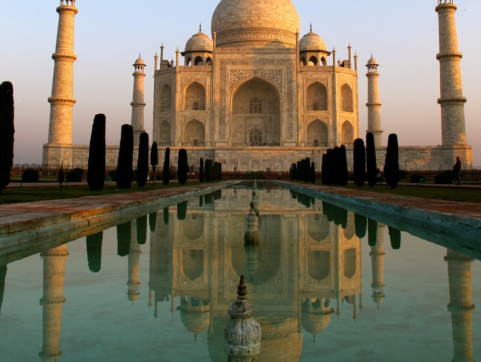 Finding the Sound of Infinity at the Taj Mahal