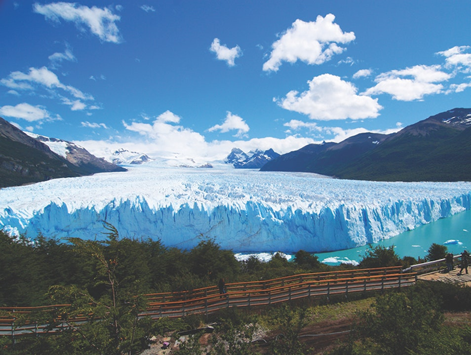 South American Glaciers, Forests, and Lakes with 4-Day Patagonia Cruise Perito Moreno  Argentina