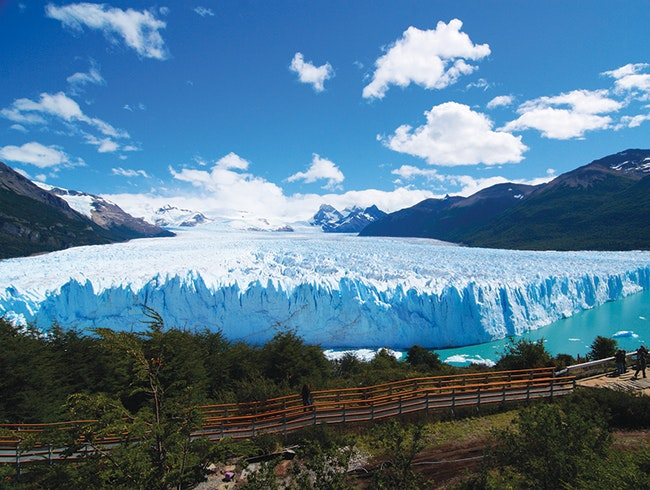 South American Glaciers, Forests, and Lakes with 4-Day Patagonia Cruise