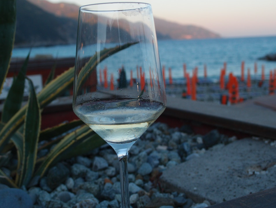 Sunset Sip Monterosso Al Mare  Italy