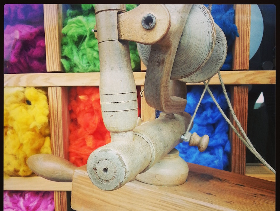 Indulge in the 'champagne of fabrics' at Harris Tweed Hebrides