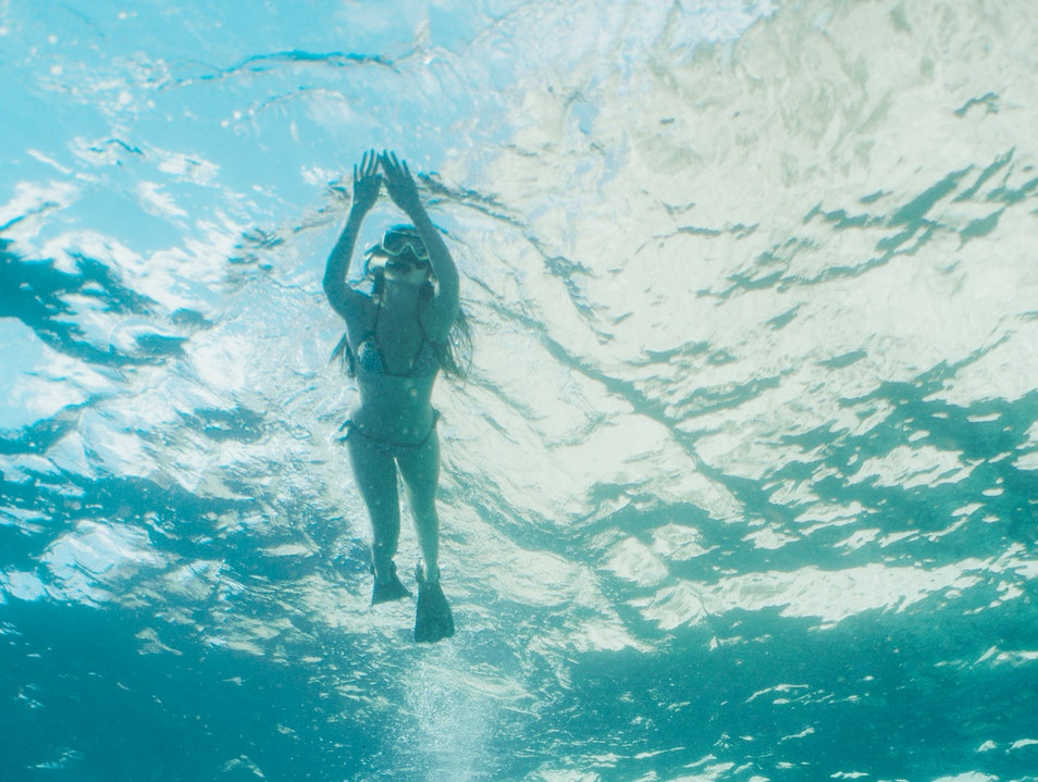 Snorkel in the shadow of the Pitons Anse Ivrogne  Saint Lucia