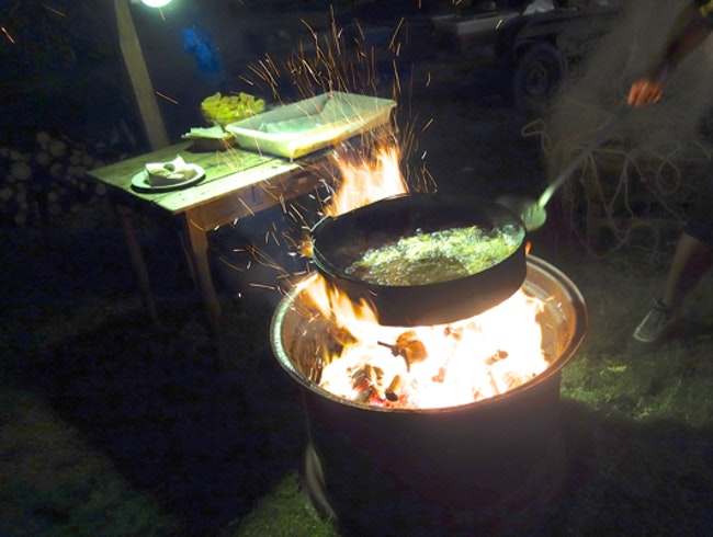 COOKING WITH FIRE IN JOSE IGNACIO
