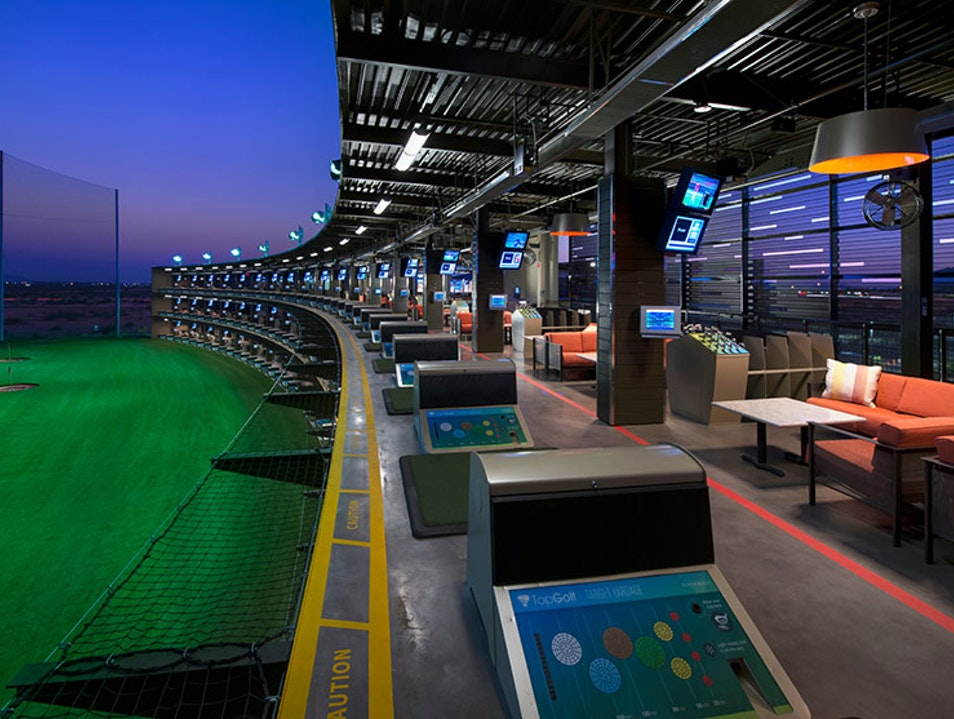Indoor Andretti go-cart facility with full-service bar ...
