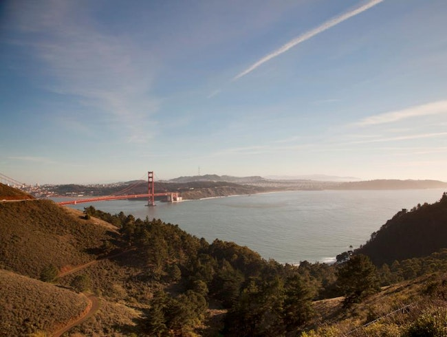 Breathtaking view of the Golden Gate Bridge