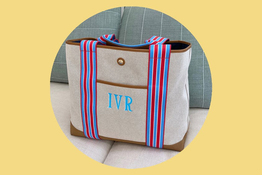 This tote is begging to be taken on a beach vacation.
