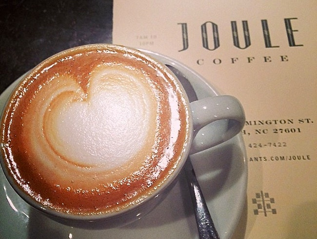 North Carolina's Joule Café and Coffee