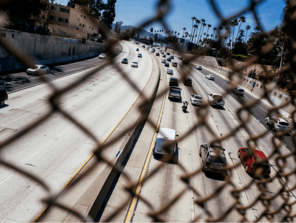 101 Freeway, Hollywood  Los Angeles California United States
