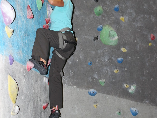 Bouldering at High Point
