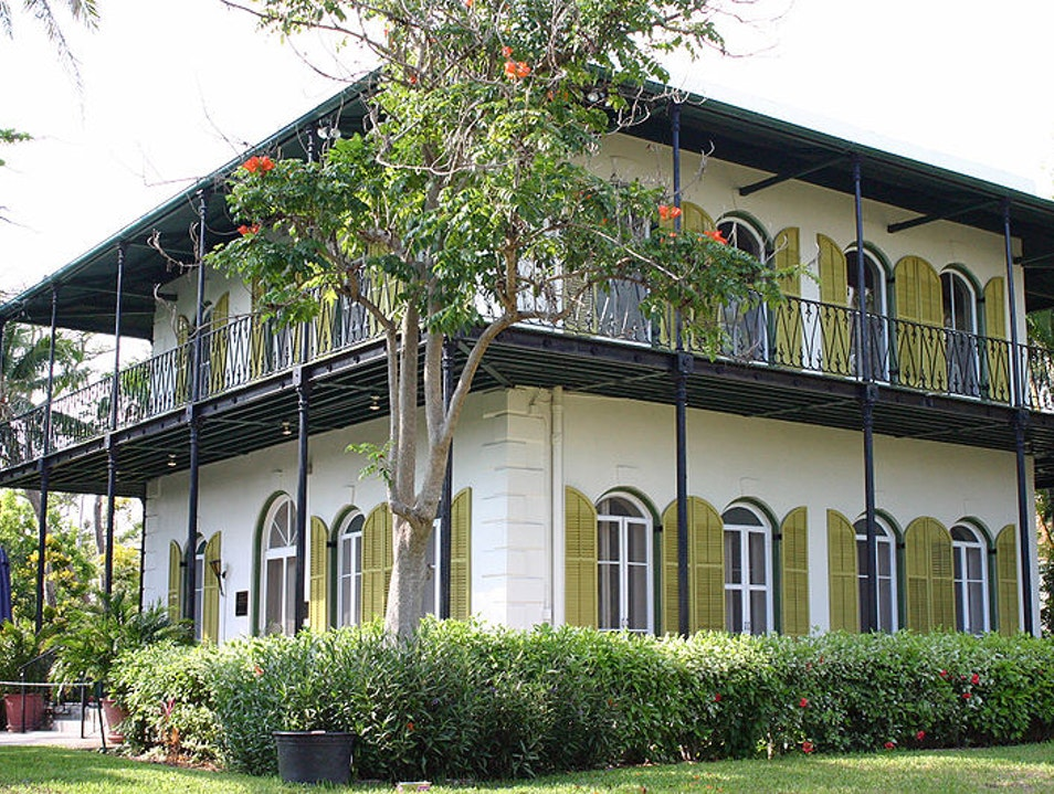 Ernest Hemingway Home and Museum  Key West Florida United States