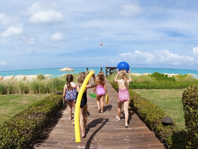 Luxury Family-Friendly Option on Grace Bay Beach