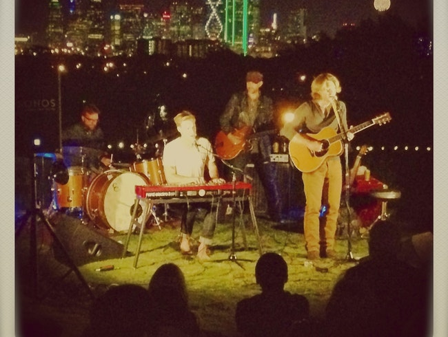 Barefoot at the Belmont KXT Music Series