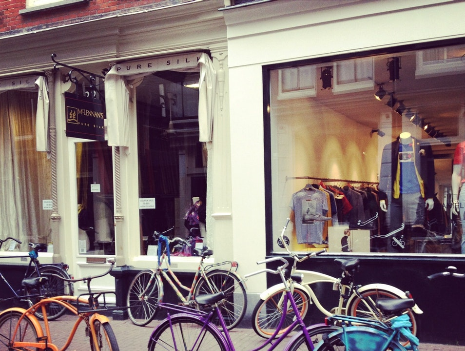 Shopping on the Nine Streets in Amsterdam