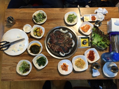 Korean Barbecue Busan  South Korea