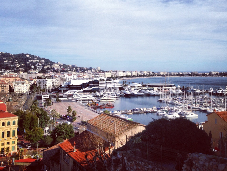 View From Le Suquet Cannes  France