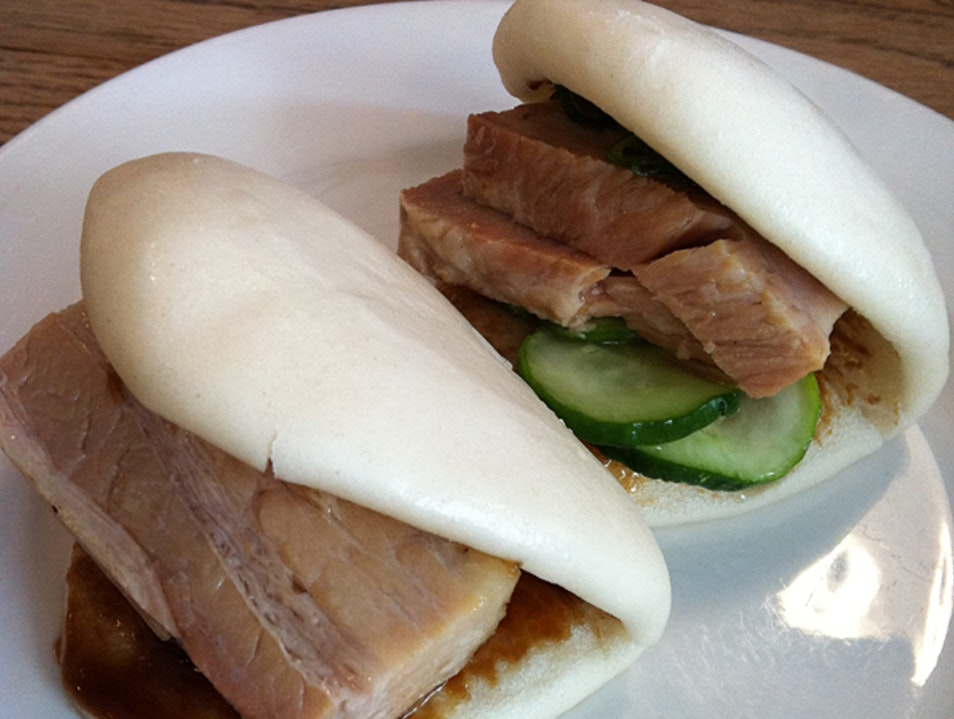 Momofuku pork buns New York New York United States