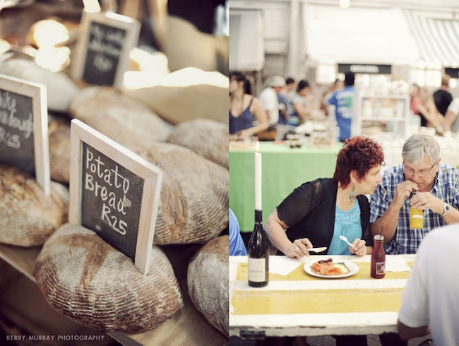 Gourmet Farmers Market in Cape Town