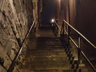 Exorcist Steps Washington, D.C. District of Columbia United States