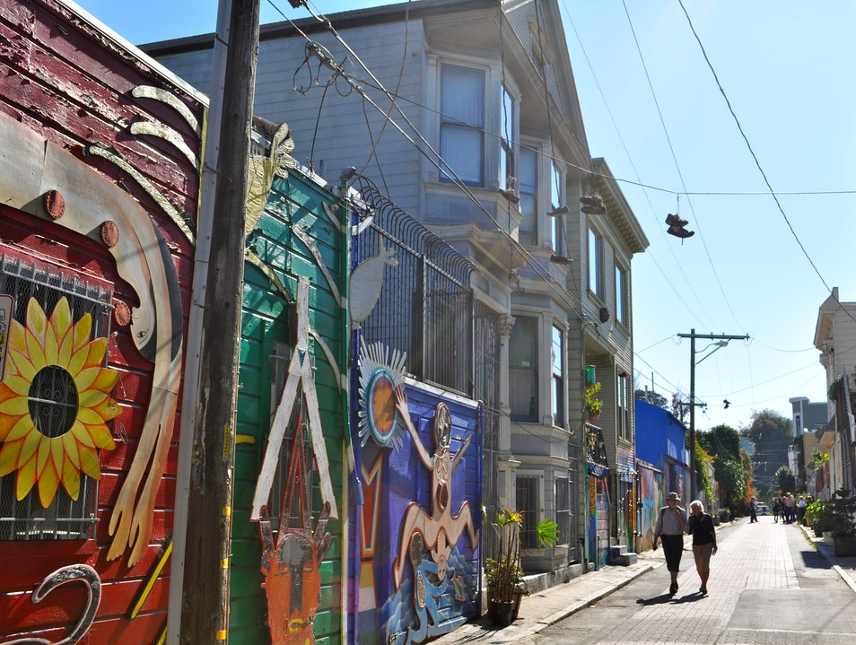 The Other Mission Mural Alley