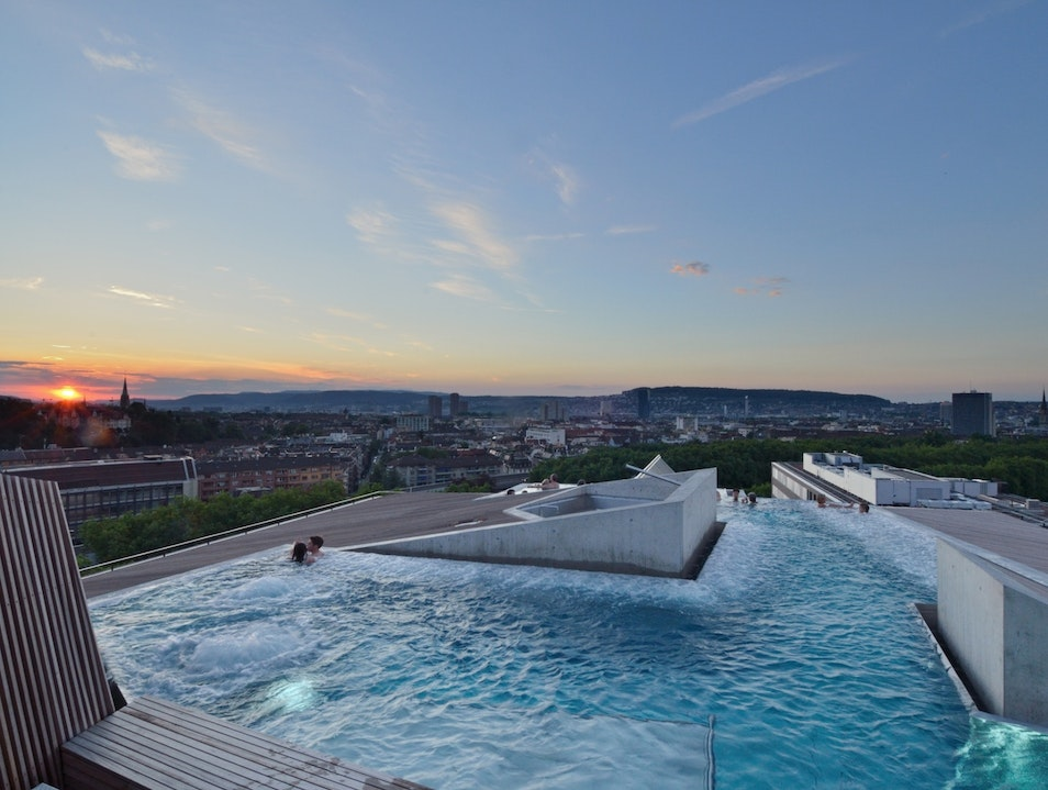A Thermal Spa with Stellar Views Zurich  Switzerland