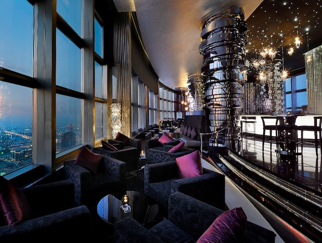 Get Giddy at Dubai's Most Glamorous Bar