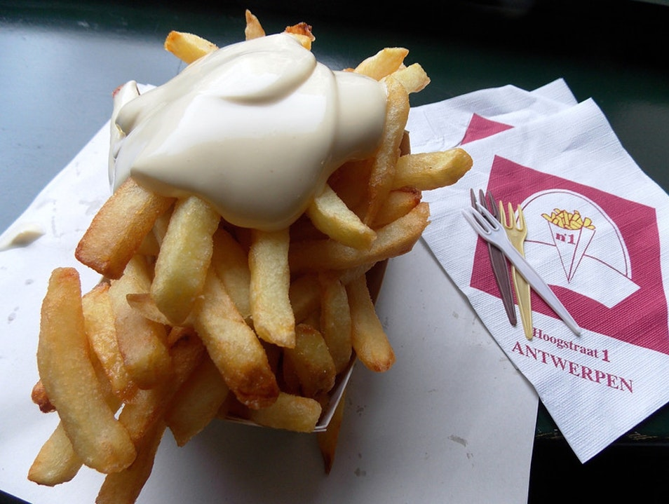 Great Frites in Antwerp! Antwerp  Belgium