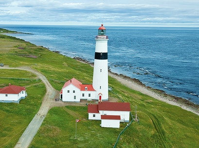 Point Amour Lighthouse L'anse Au Loup  Canada
